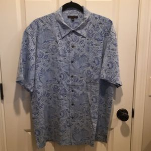 Saltaire casual short sleeve silk blend